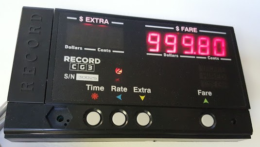 Record Electronics GST Taxi Meter