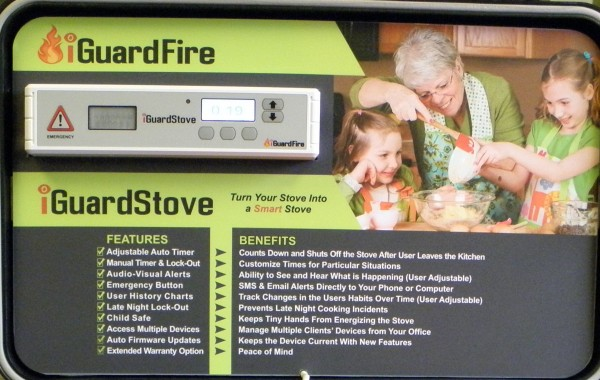 iGuardStove™ Stove Protection Device