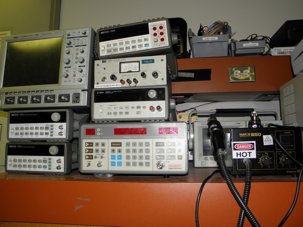 Some of Deltatee's Instruments and Test Equipment