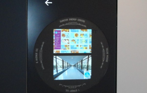 Calgary Plus 15 Skywalk Navigation Kiosks